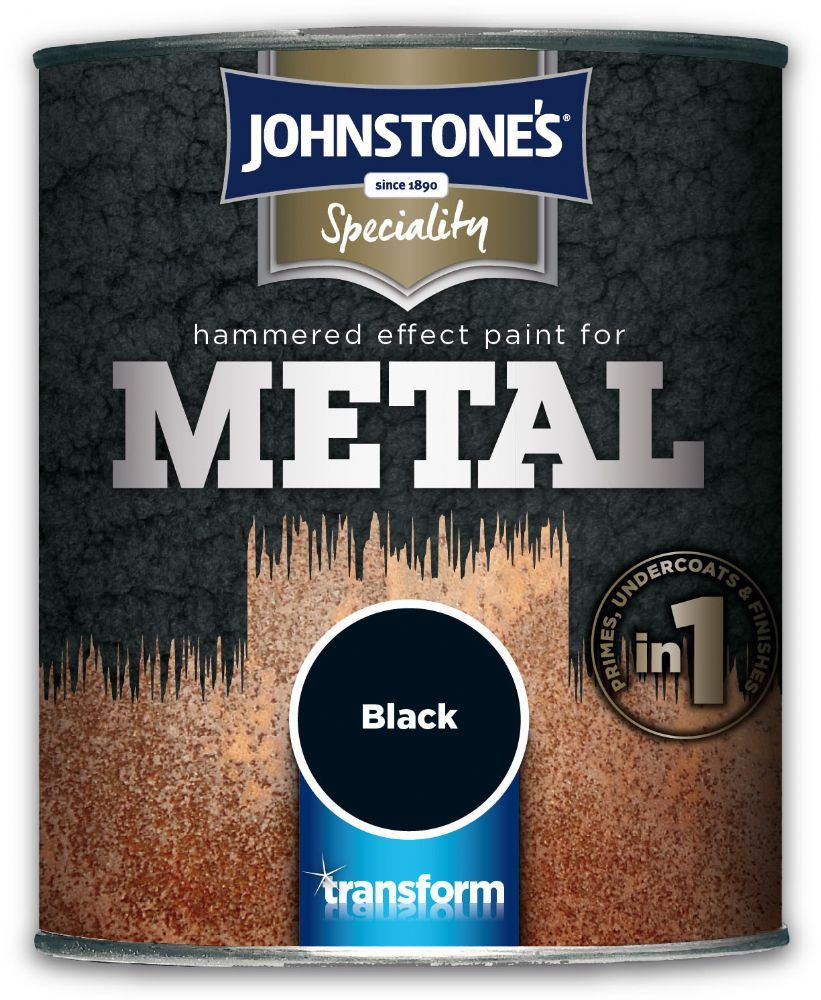 Johnstones Speciality Hammered Effect Paint for Metal 750ml